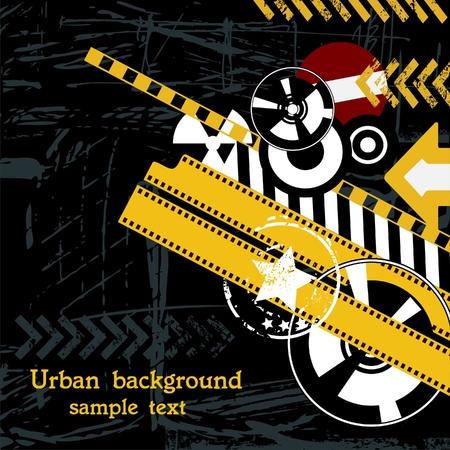urban style: Urban background