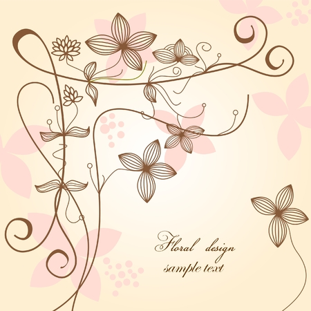 Floral background Stock Vector - 7793757