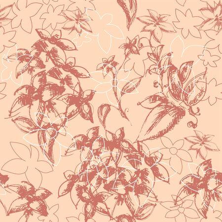 Vintage floral background Stock Vector - 7860347