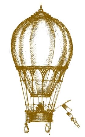 ballon dirigeable: Ballon � air chaud