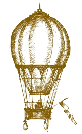 airship: Hot air balloon