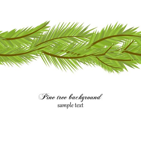 Pine tree background Stock Vector - 7964016