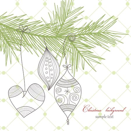 Christmas background Stock Vector - 8023055
