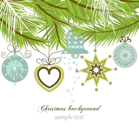 Christmas background Stock Vector - 8023038