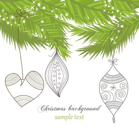 Christmas background Stock Vector - 8023042