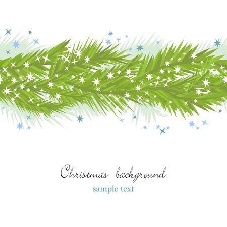 Christmas seamless background Stock Vector - 8023043