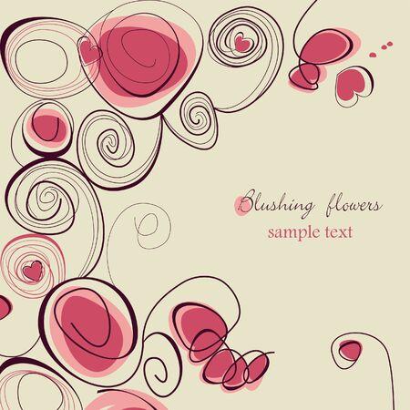 blushing: Blushing flowers