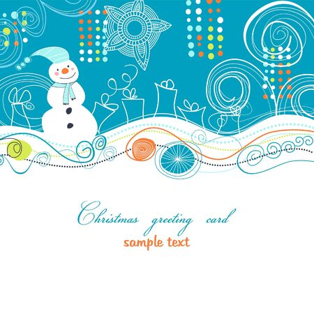 seasonal symbol: Christmas card