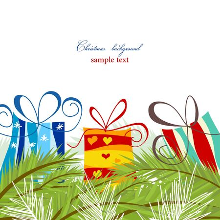 Christmas card Stock Vector - 8085015
