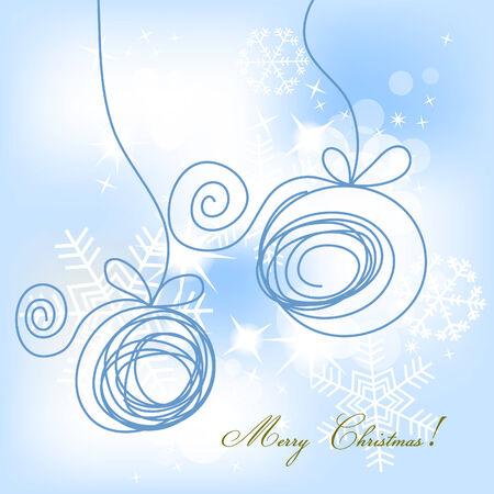 Christmas card Stock Vector - 8132476