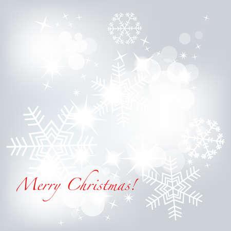 Silver Christmas Stock Vector - 8132475