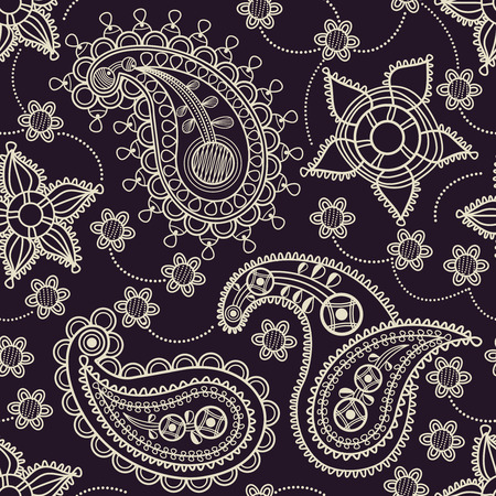 Paisley seamless pattern Stock Vector - 8254247