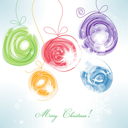 childish: Christmas balls