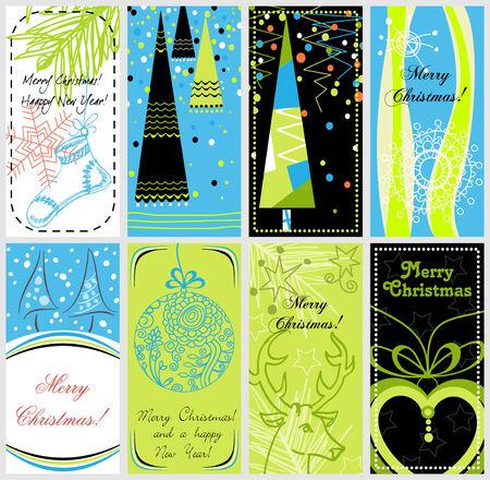 Stylish Christmas banners Vector