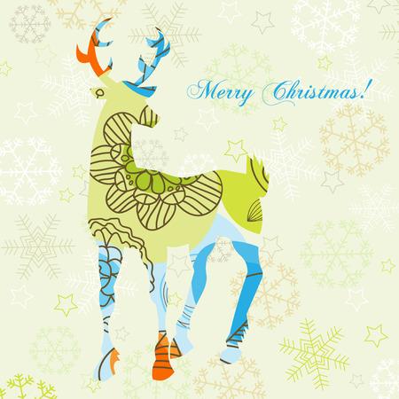 noel: Decorative Christmas deer