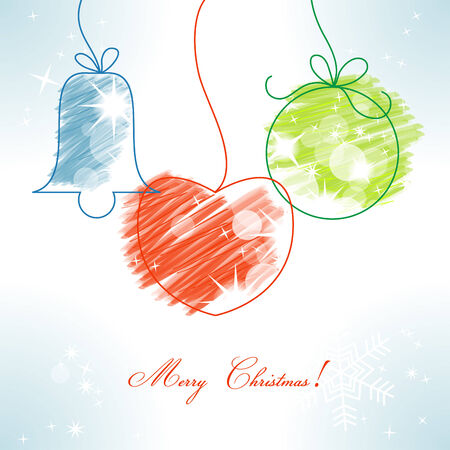 childish: Christmas background