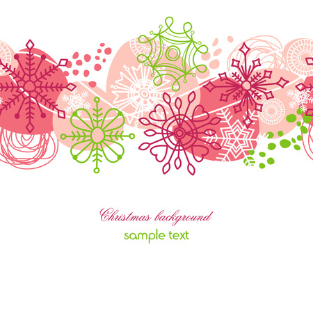 Christmas seamless background Stock Vector - 8337507