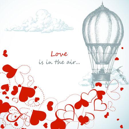 El amor está en el aire...
