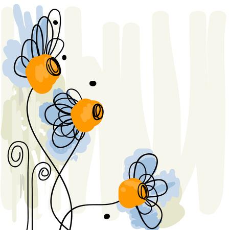 Daisy watercolor Stock Vector - 8858481