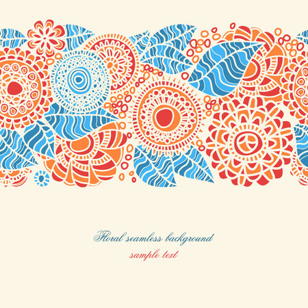 Floral seamless pattern Stock Vector - 8858495