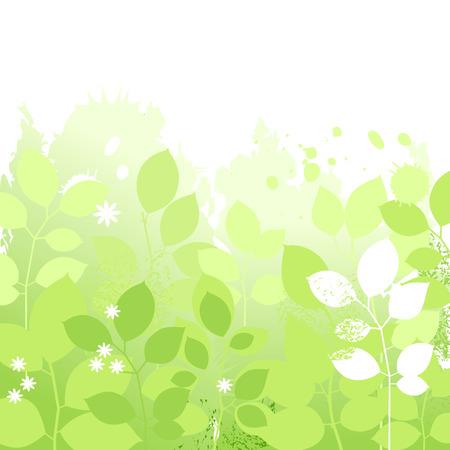 Light spring floral background Stock Vector - 9056347