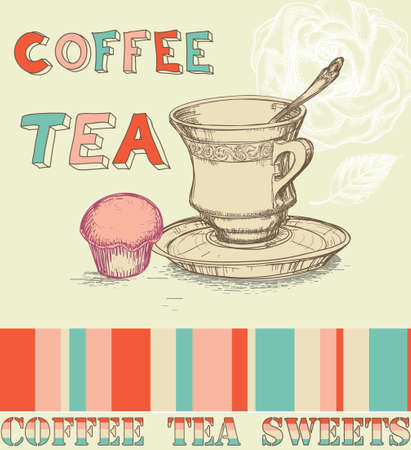 Coffee tea menu Stock Vector - 9214664