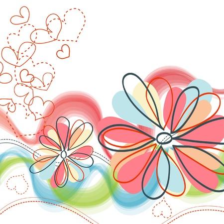 encantador: Fundo floral bonito