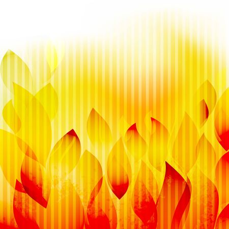 Hot summer abstract background  Vector