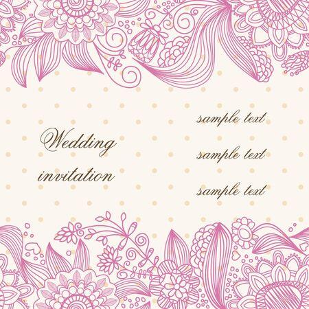 Hochzeit Einladung Abdeckung