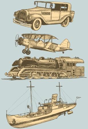 luftschiff: Retro Transportgruppe