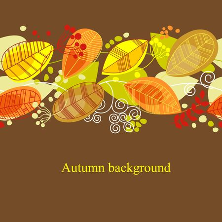 continuous: Autumn background