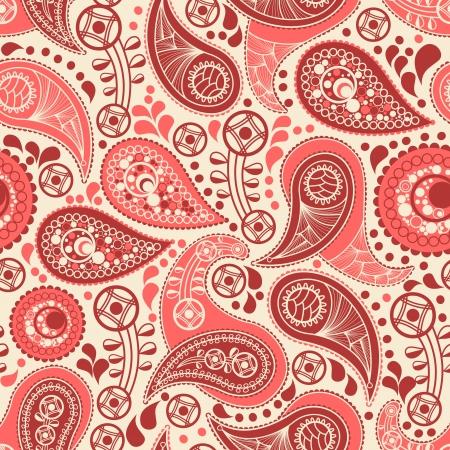 paisley wallpaper: Paisley seamless pattern
