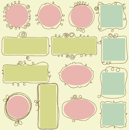 oval: Cute frames