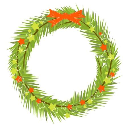Christmas wreath Stock Vector - 10552192