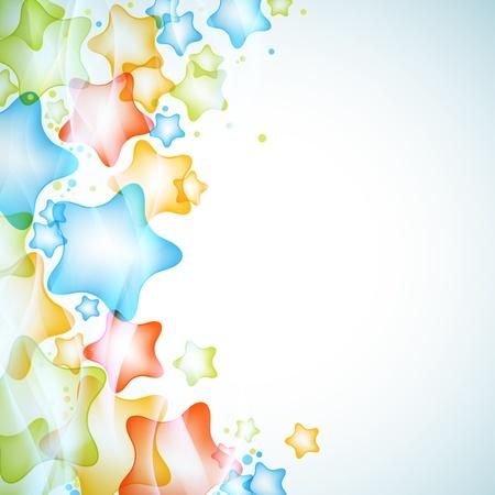 glans: Glansigt stjärnor vektorbakgrund