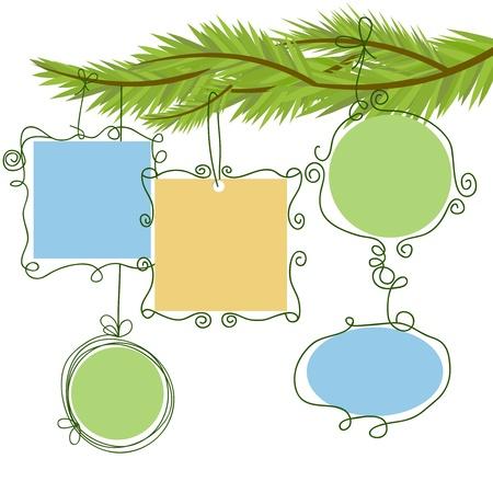 suspend: Christmas frames