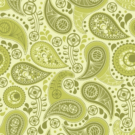 paisley background: Vintage paisley pattern