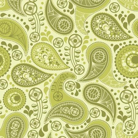 Vintage paisley pattern