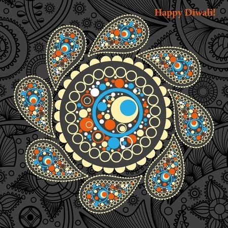 adorning: Diwali background