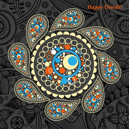 adorn: Fondo de Diwali Vectores