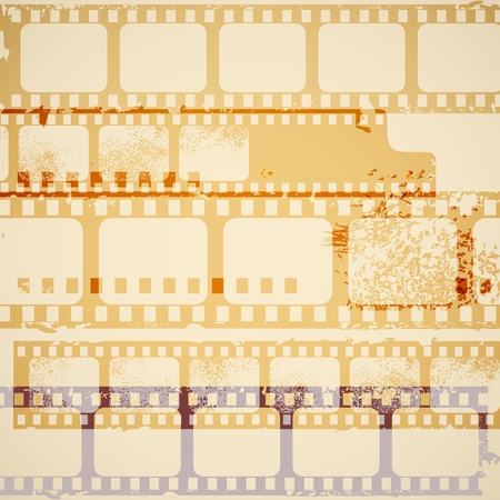 Old film background  Vector