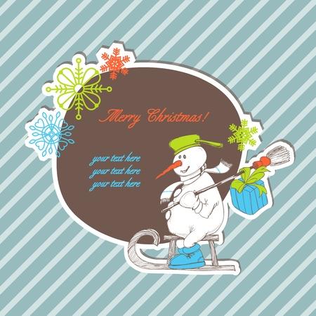Stylish Christmas background  Vector
