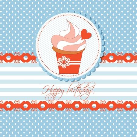 Kids Birthday Cupcake Photos Images Royalty Free Kids – Cupcake Birthday Card