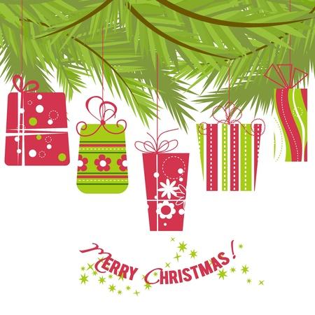 Christmas gifts Stock Vector - 11133468