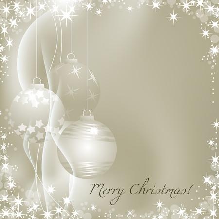Zilver kerst achtergrond