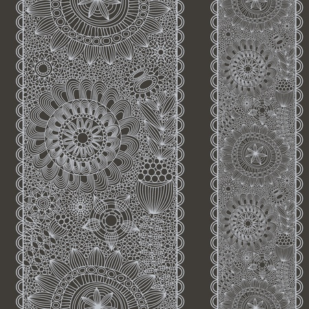 Lace seamless pattern Stock Vector - 11275406