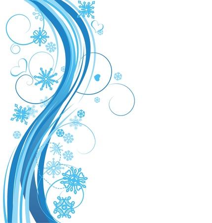 ribetes: Invierno vector de fondo Vectores