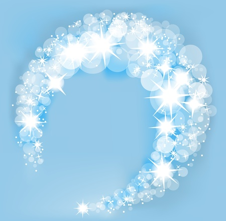 Christmas frosty background  Vector