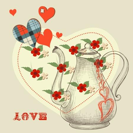The secret love potion Vector