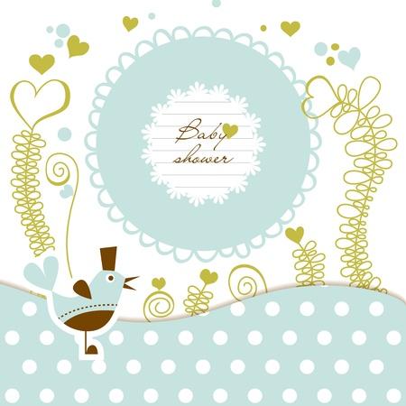 Douche de bébé mignon Banque d'images - 12440329